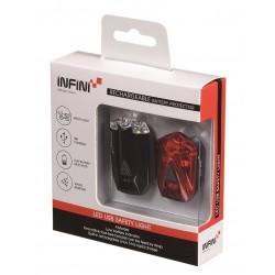 INFINI ZESTAW LAVA SET 260W+260R CZARNY USB
