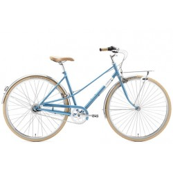 """CREME CAFERACER LADY SOLO BLUE 7S 28"""""""