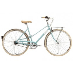 """CREME CAFERACER LADY SOLO TURQUOISE 3S 28"""""""