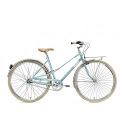 """CREME CAFERACER LADY SOLO TURQUOISE 7S 28"""""""
