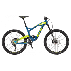 GT FORCE 27,5' CARBON EXPERT MUSTANG TEAL/ NEON YELLOW