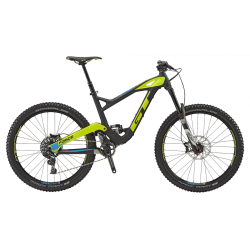 GT FORCE 27,5' CARBON PRO SRAM RAW BLACK/ NEON YELLOW