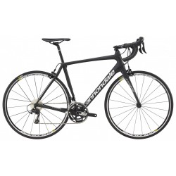 CANNONDALE SYNAPSE CARBON 105 Exposed UD Carbon w/ Nearly Black, White - Matte (BLK)