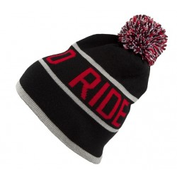 BTR POMPON BLACK/RED