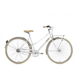CREME CAFERACER LADY SOLO WHITE 7S 28""