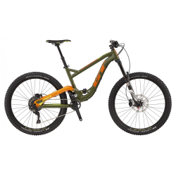 GT FORCE 27,5' EXPERT MILITARY GREEN/ ORANGE