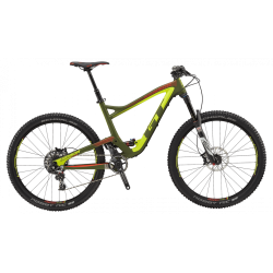 GT SENSOR 27,5' CARBON PRO SRAM MILITARY GREEN/ NEON YELLOW