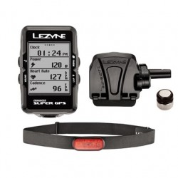 Komputer rowerowy LEZYNE Super GPS HRSC Loaded