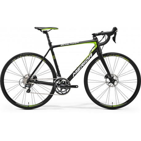 MERIDA SCULTURA DISC 500 MATT BLACK/GREEN