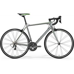 MERIDA SCULTURA 300 SHINY DARK SILVER (GREY/GREEN)