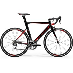 MERIDA REACTO 500 MET. BLACK (RED/SILVER)