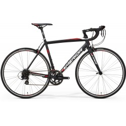 MERIDA RACE 50 MATT BLACK (WHITE/RED)
