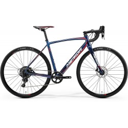 MERIDA CYCLO CROSS 600 SHINY DARK STARRY BLU (RED/WHITE)