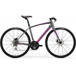 MERIDA SPEEDER 100-JULIET MATT GREY (PINK/PURPLE)