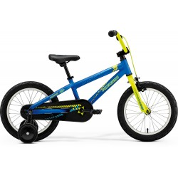 MERIDA MATTS J-16 MATT BLUE (YELLOW/SKY BLUE)