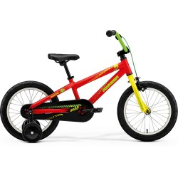 MERIDA MATTS J-16 MATT RED (YELLOW/GREEN)