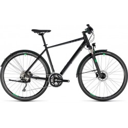 CUBE CROSS ALLROAD BLACK/GREEN