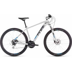 CUBE AIM RACE WHITE/BLUE 27,5''