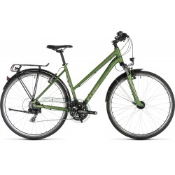 CUBE TOURING GREEN/SILVER TRAPEZ