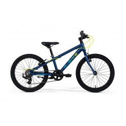 M-BIKE KID 20 BLACK/LIGHT GREEN