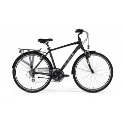 M-BIKE FREEWAY 9100 MATT BLACK/BLUE